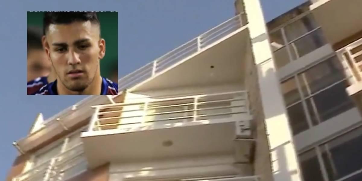 Fallece futbolista argentino tras caer de un sexto piso