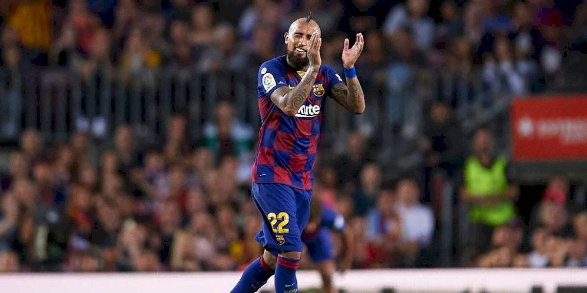 """""""Omnipresente... exultante"""": Arturo Vidal pone de rodillas a la prensa española tras su actuación ante Sevilla"""