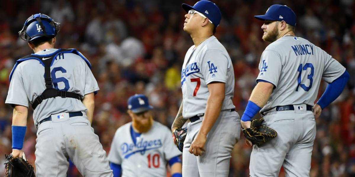 Dodgers es superado por Washington y ponen en riesgo su pase