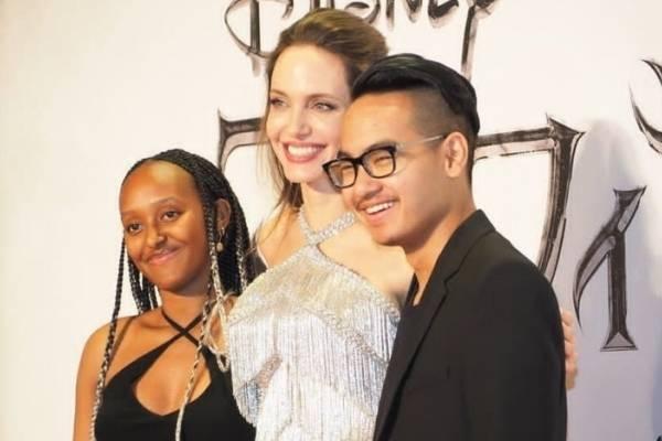 Fotos Del Fabuloso Peinado De Zahara Jolie Pitt Y Su Vestido