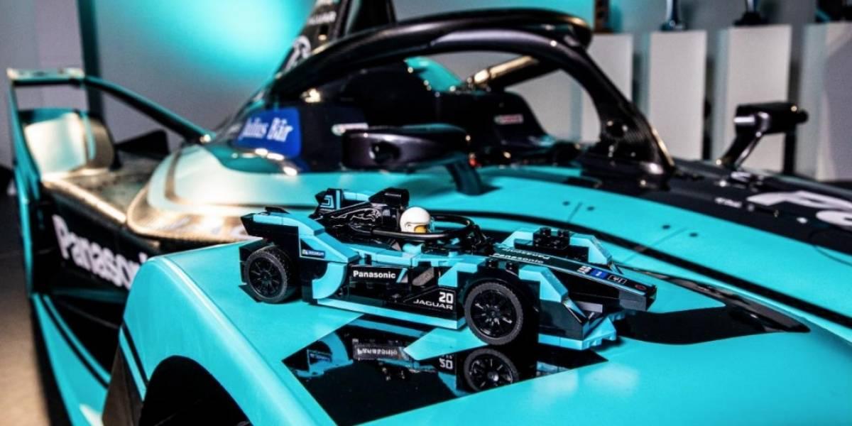 I-Type 4 es el nuevo coche eléctrico de carreras de Panasonic Jaguar Racing