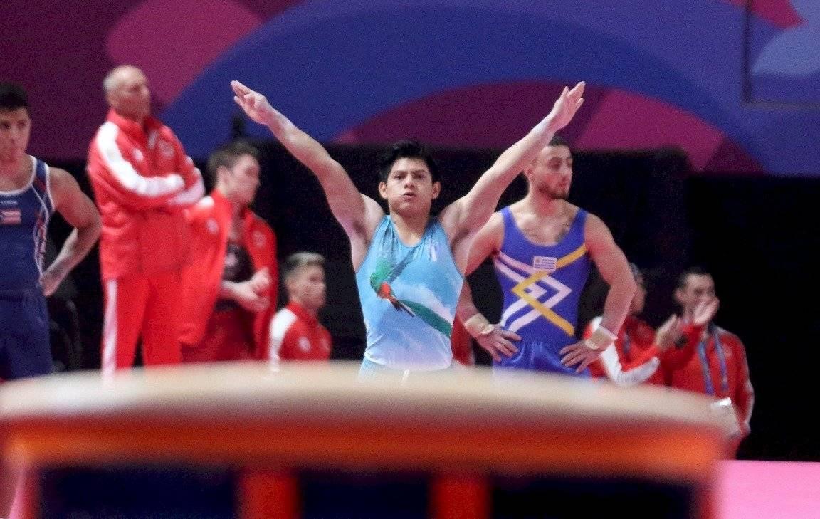 Jorge Vega en el Mundial de Stuttgart, Alemania 2019
