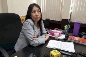 jueza de Mayor Riesgo D, Erika Aifán