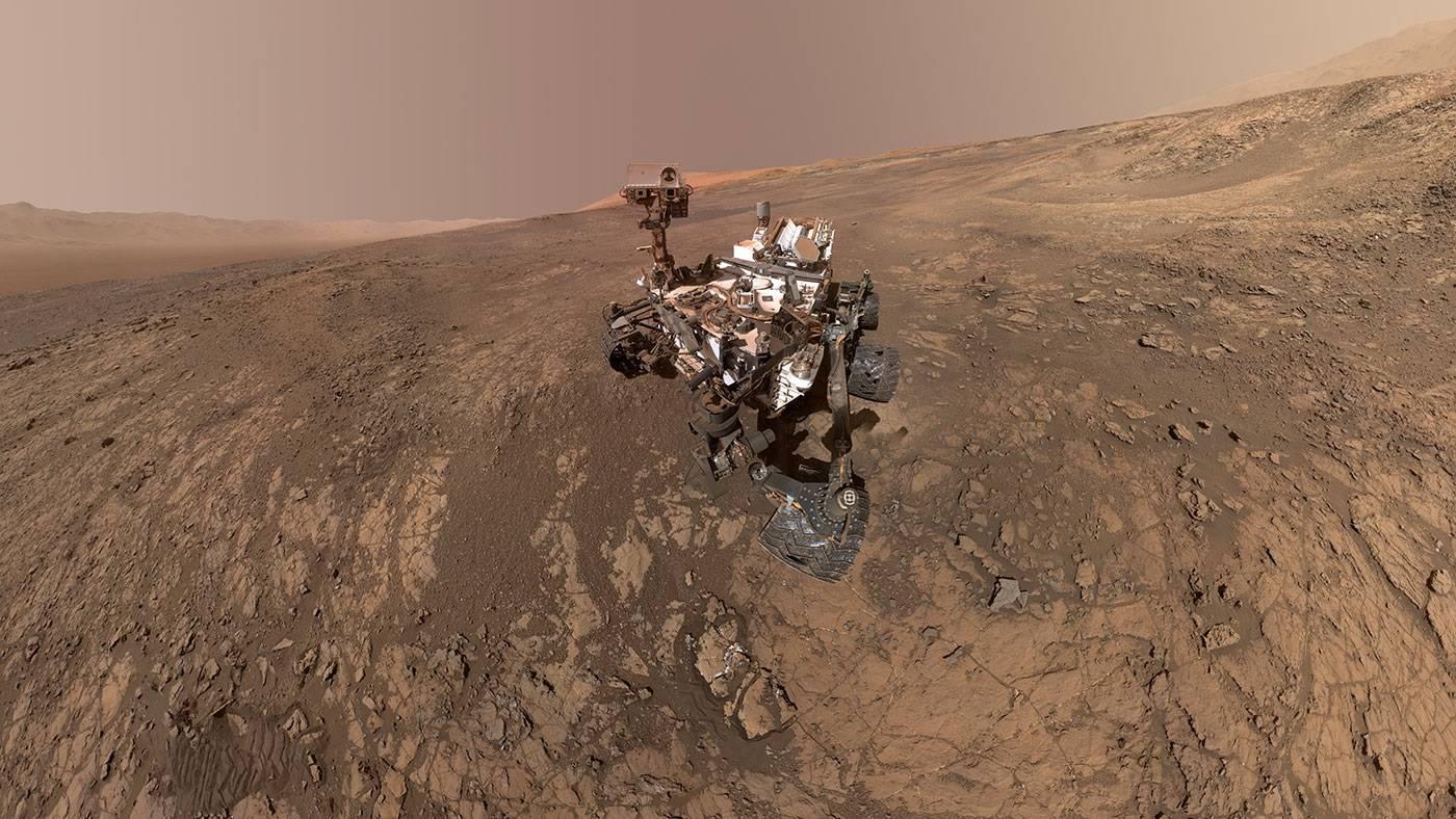 Rover Curiosity de la NASA detecta que el oxigeno en Marte se comporta de manera inexplicable