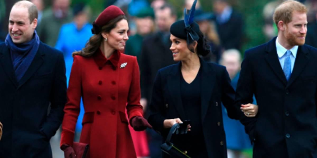 Meghan y el príncipe Harry se unen a Kate y el príncipe William en importante anuncio de televisión