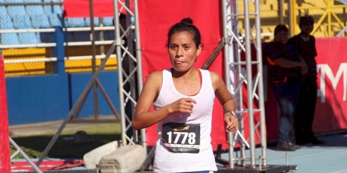 Reconocida corredora guatemalteca, Merlin Chalí, se viste de luto