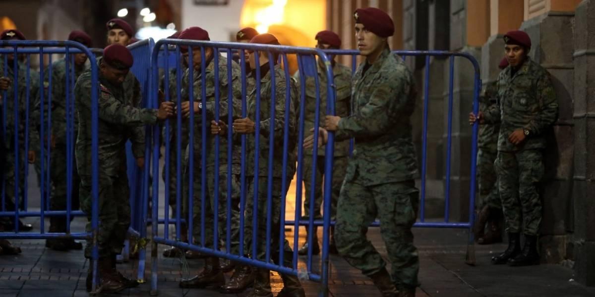 Un muerto y 14 heridos en ola de protestas en Ecuador