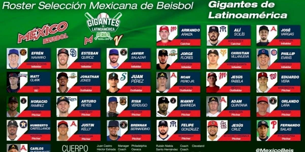 México presenta el roster que buscará el boleto a los Juegos Olímpicos de Tokio 2020