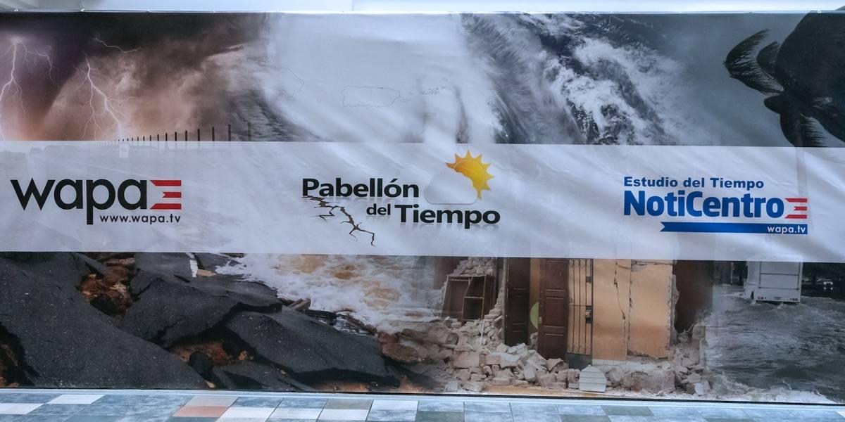 El Pabellón del Tiempo de NotiCentro llega con simulador de terremotos a Plaza