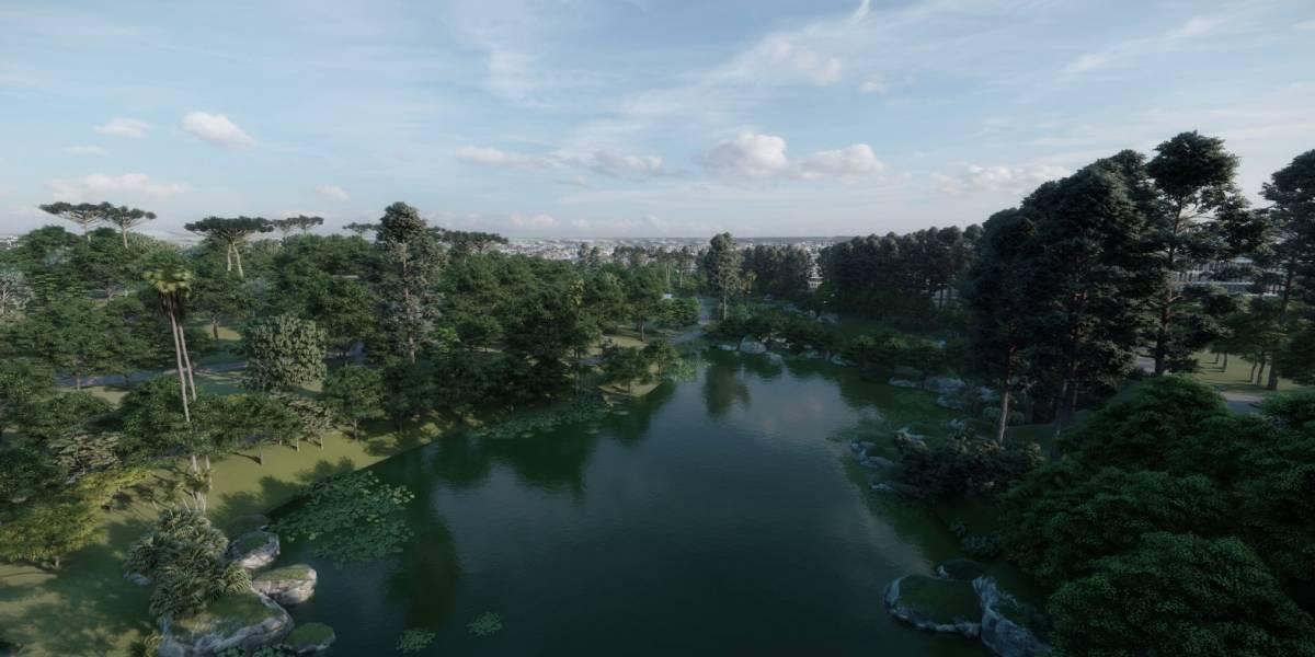 Artista cria parques em cemitérios de São Paulo