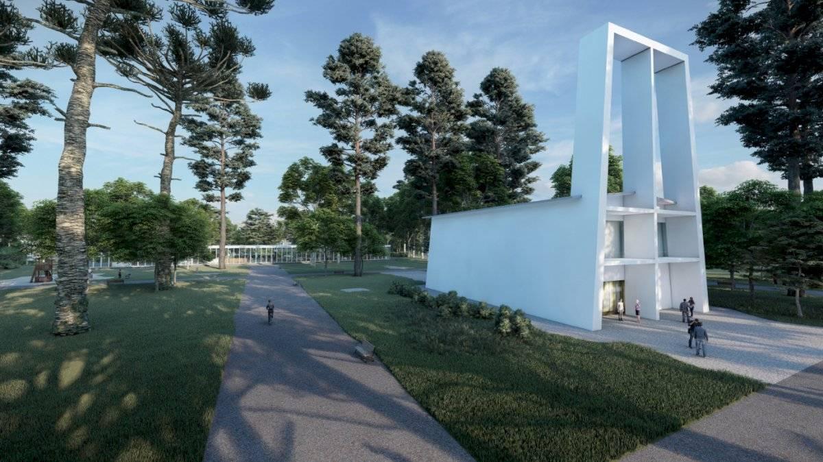 Assim ficaria revitalizado o cemitério de Vila Nova Cachoeirinha; ao lado, como está hoje Divulgação