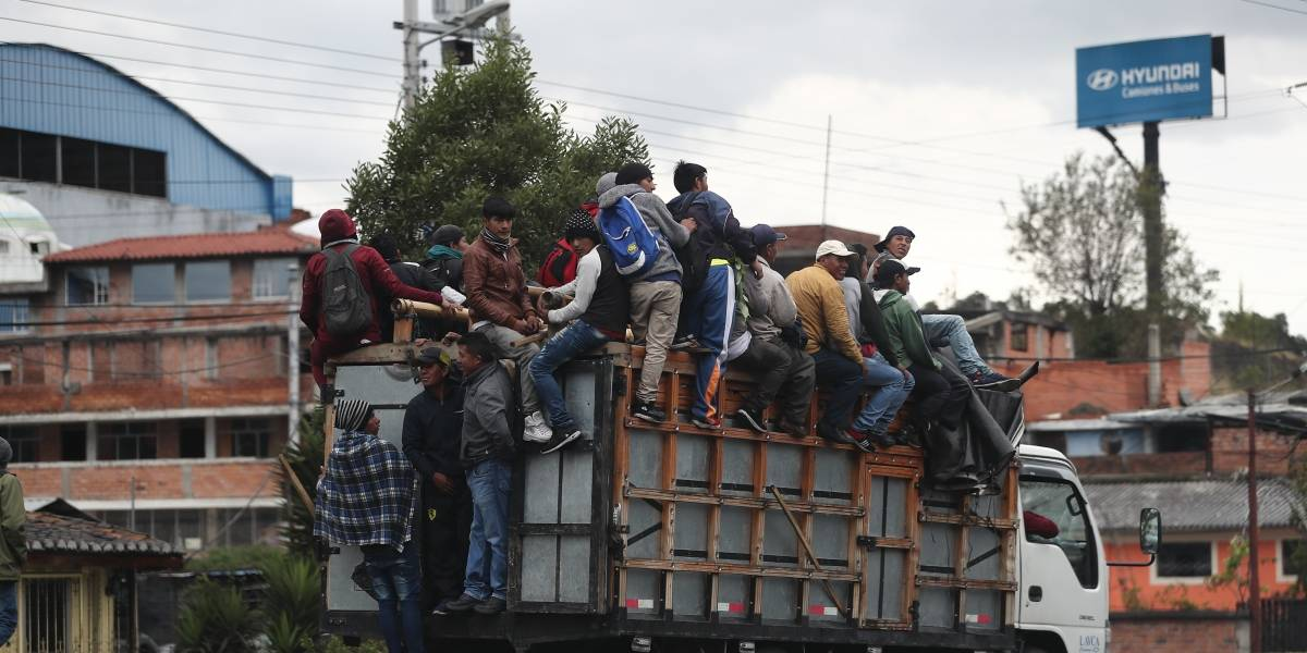 Protestas en Ecuador: Grupos indígenas se concentran en el Parque El Arbolito este 8 de octubre