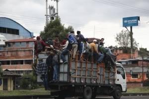 Grupos indígenas llegan a Quito