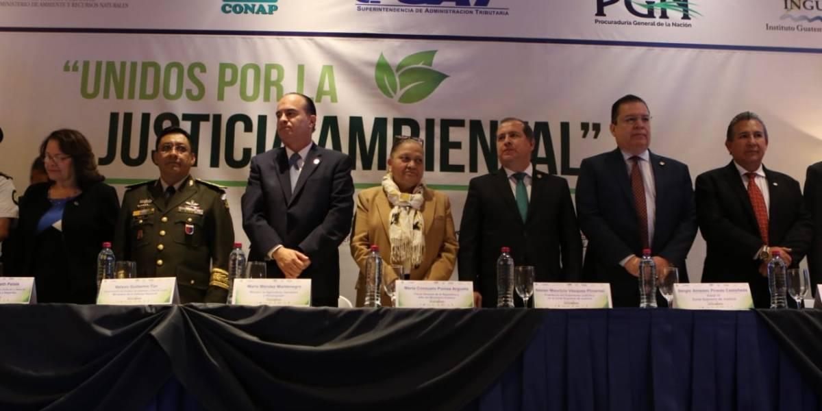 Autoridades firman declaración para fortalecer la justicia ambiental