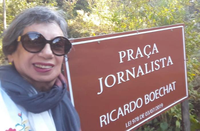 Praça no Rio de Janeiro recebe nome de Ricardo Boechat