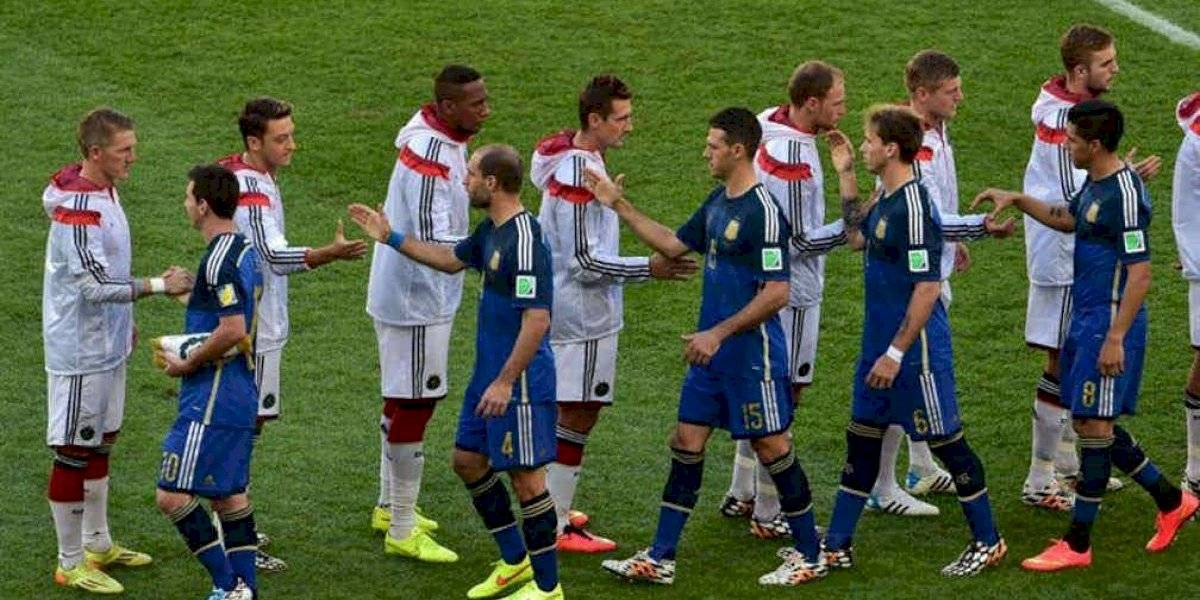 Sin Messi, sancionado, Argentina visita a Alemania en Fecha FIFA