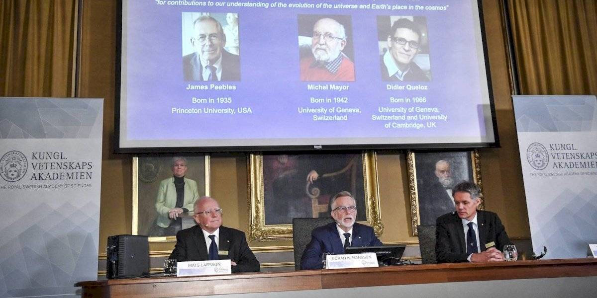 Nobel para tres astrofísicos que han revolucionado la percepción del Cosmos
