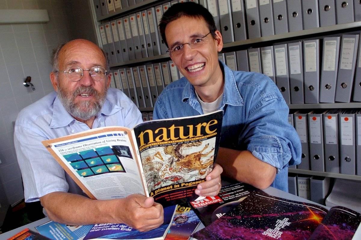 En octubre de 1995, Mayor y Didier anunciaron el primer descubrimiento de un planeta fuera del Sistema Solar, un exoplaneta orbitando una estrella de tipo solar en la Vía Láctea.