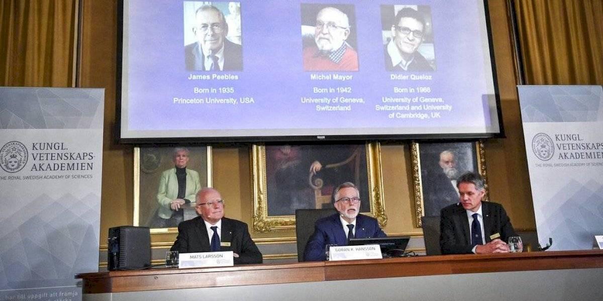 Nobel de Física para los descubridores del primer planeta fuera del Sistema Solar y por estudio sobre la evolución del universo