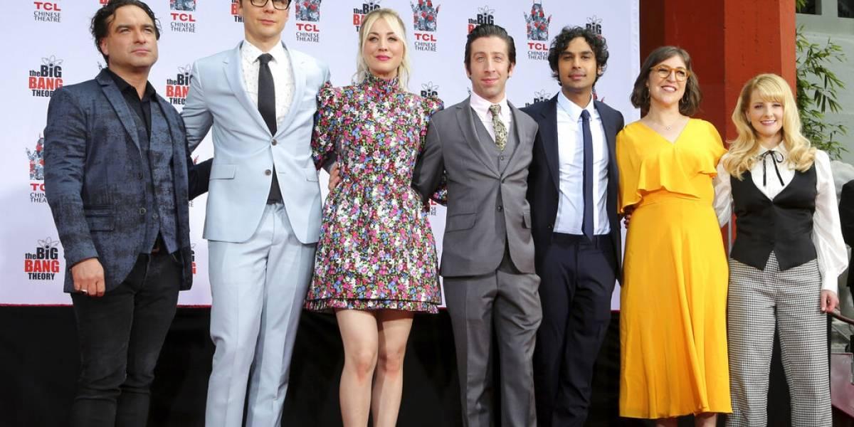 """""""Big Bang Theory"""" es saludada durante el anuncio del Nobel"""