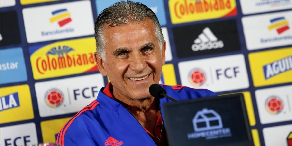Carlos Queiroz bañó en elogios a jugador de la Selección Colombia que lo ha sorprendido