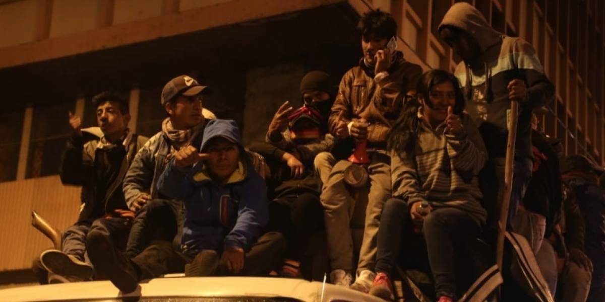 Protestas en Ecuador: Asamblea Nacional rechaza vandalismo en los exteriores del Palacio Legislativo
