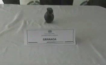 Capturan a peligroso sujeto que transportaba granada de fragmentación en Bogotá