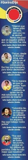 Declaraciones Queiroz