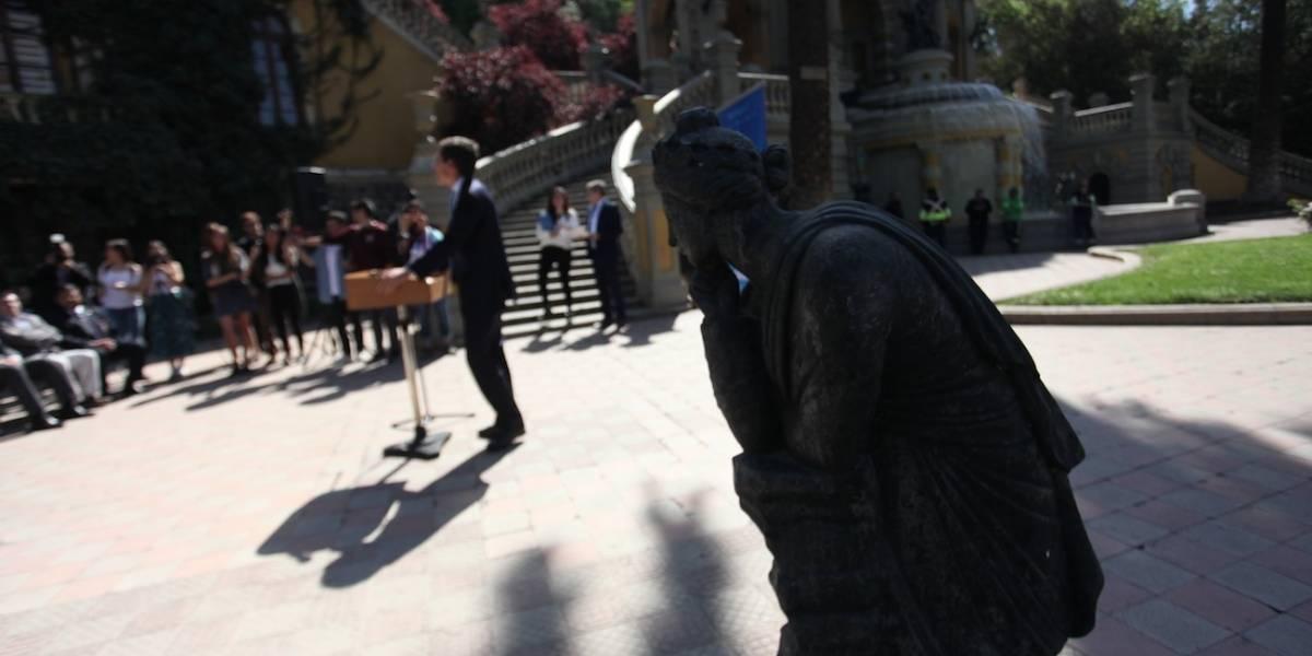Polimnia: La estatua robada por Raúl Schuler que regresa al Santa Lucía