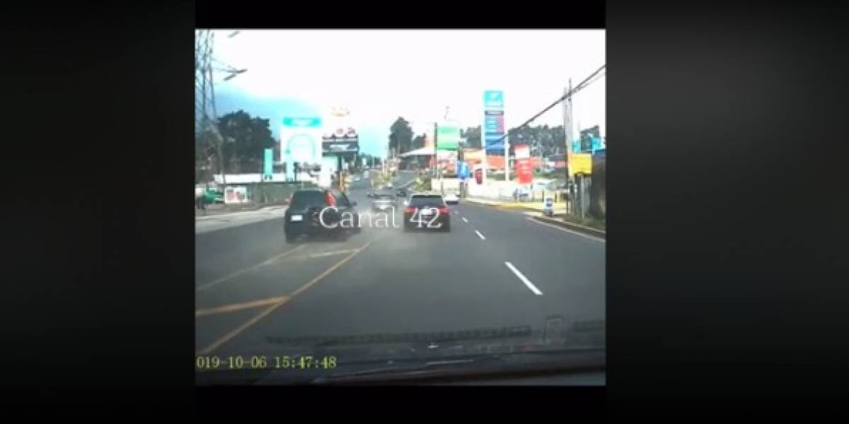 Más de Q55 mil en multas por carrera clandestina en San José Pinula