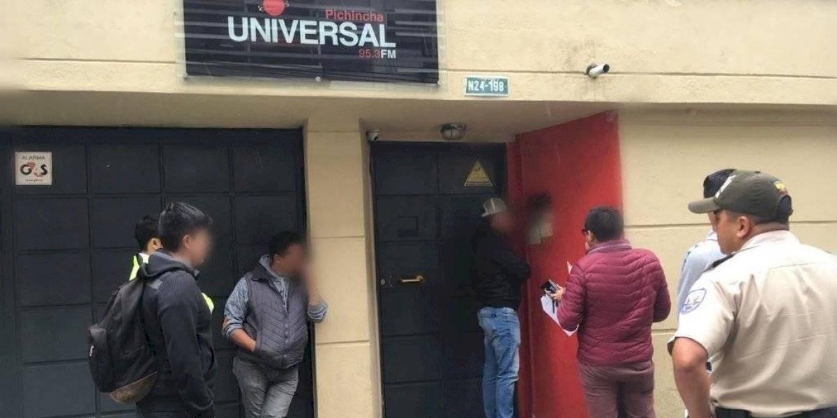 Fiscalía allana instalaciones de Pichincha Universal — Paro Nacional