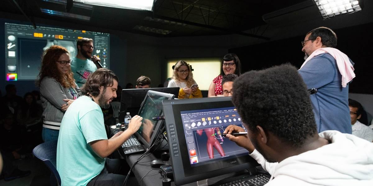 Celebran festival de animación digital