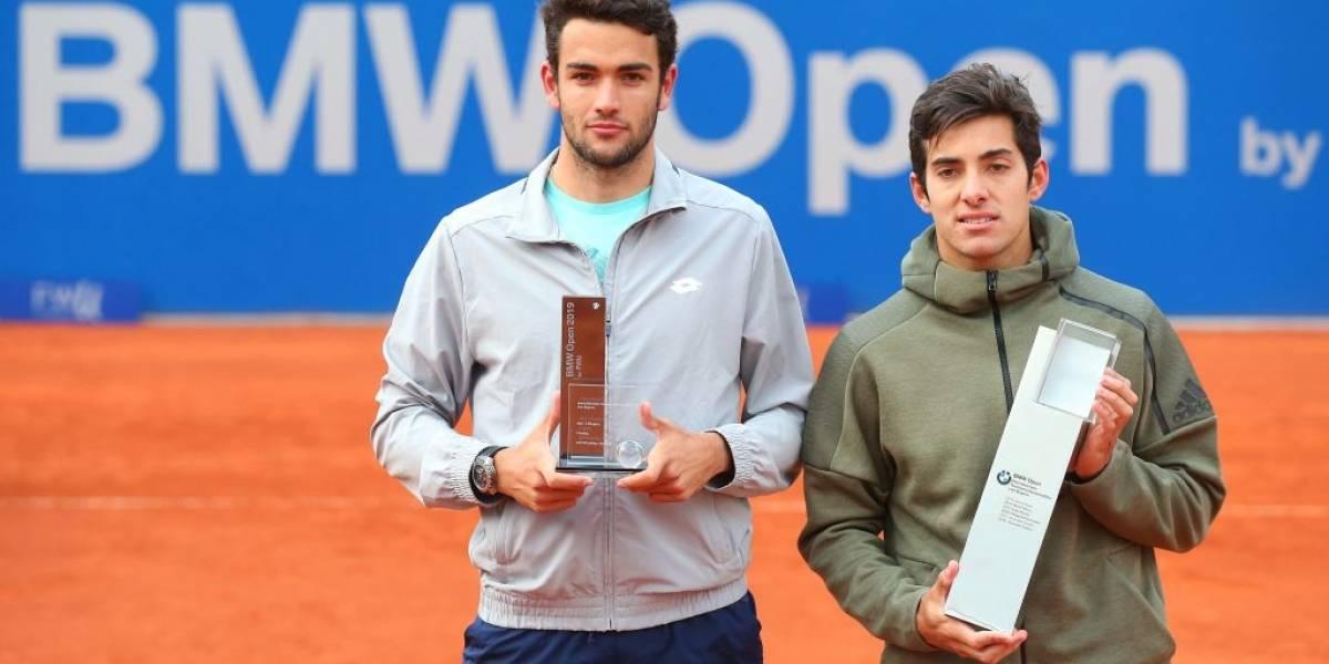 ¿Cuándo, a qué hora y quién transmite el choque entre Garin y Berrettini en el Masters 1.000 de Shanghai?
