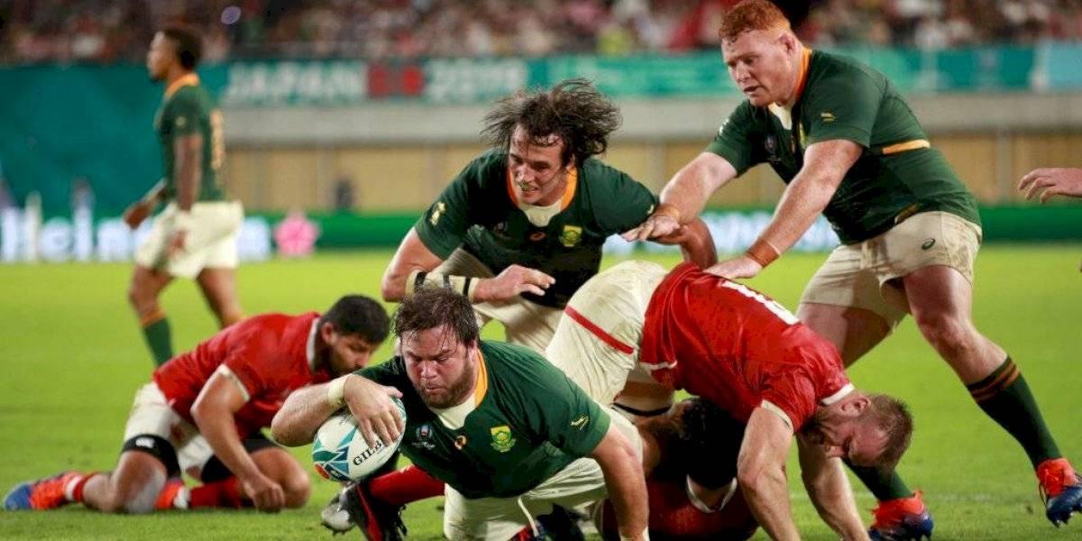 Mundial de Rugby: Sudáfrica apabulló a Canadá y se metió en cuartos de final en Japón