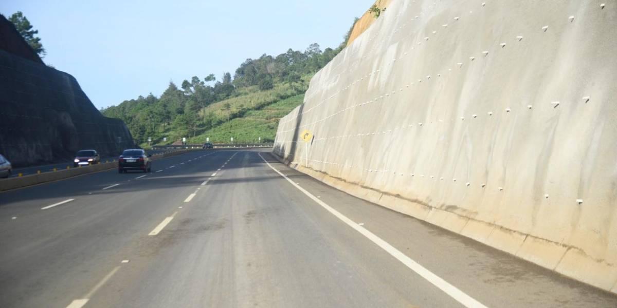 Habilitan paso por el libramiento de Chimaltenango