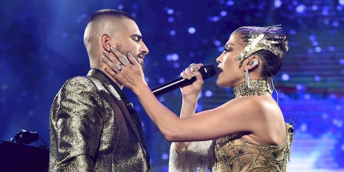 Maluma hace desplante a Jennifer López en pleno concierto