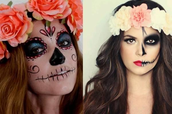 Como Hacer Un Maquillaje Sencillo De Catrina Paso A Paso Nueva Mujer