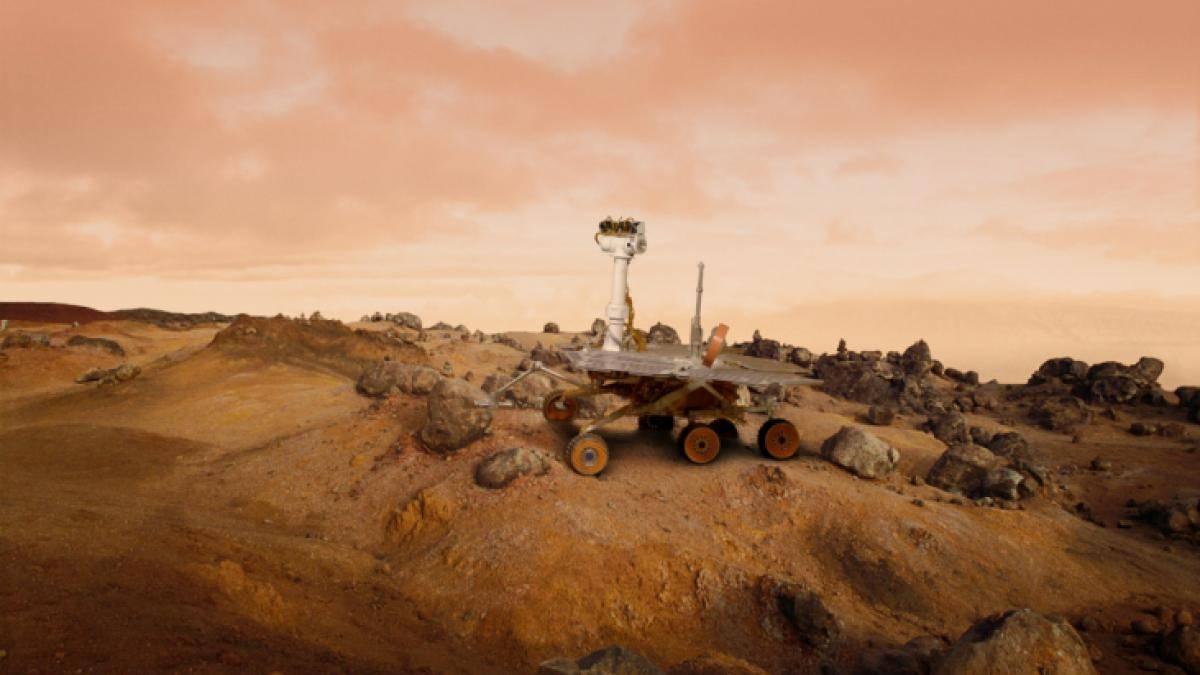 NASA Marte México