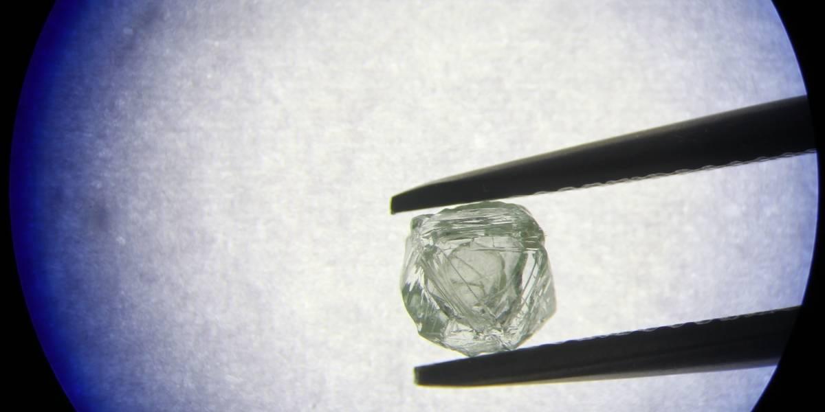 """Único en el mundo: así es el misterioso """"matrioshka"""", un diamante con un diamante en su interior"""