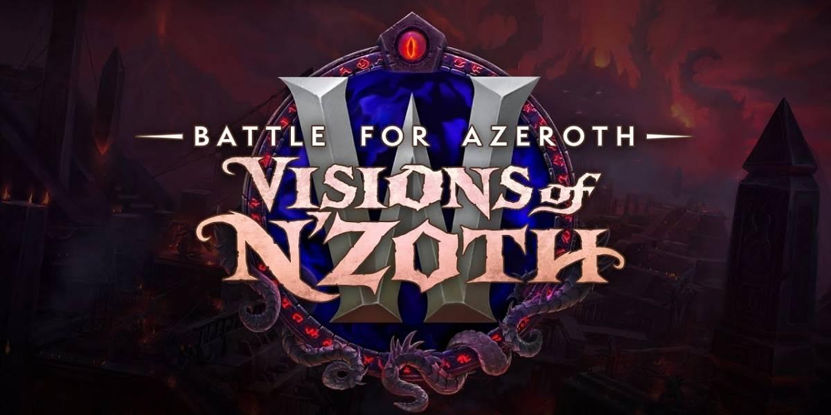 """""""Visions of N'Zoth"""" será el parche 8.3 de World of Warcraft, y hará que los jugadores luchen contra el dios antiguo"""