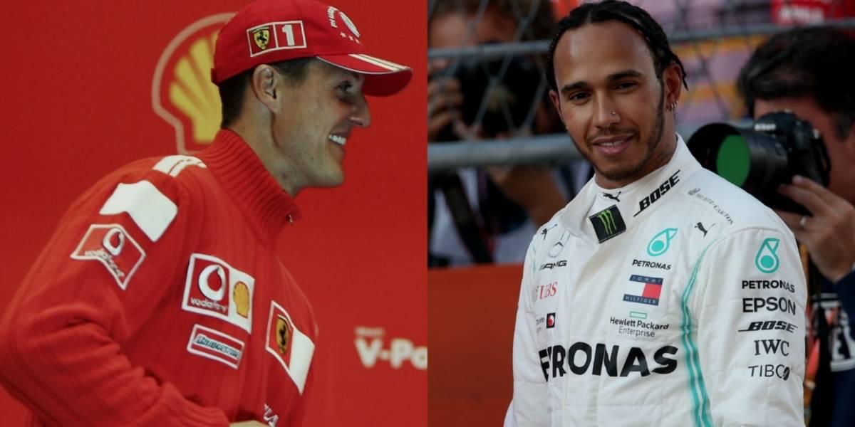 Los récords de Schumacher que busca igualar Hamilton