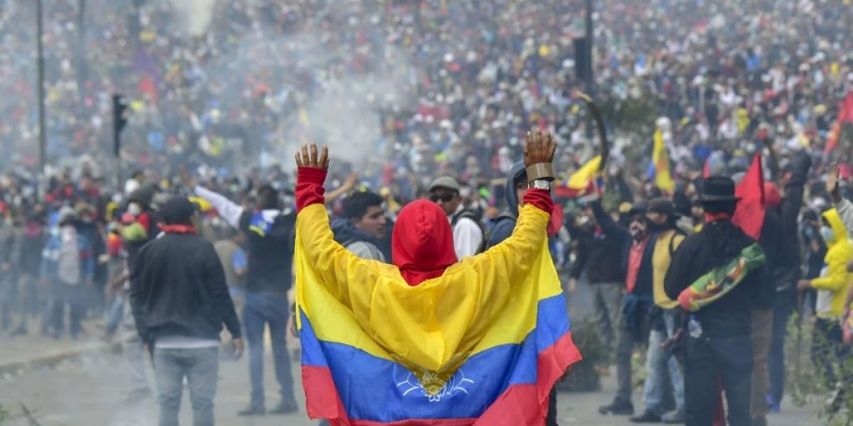 Moreno ofrece diálogo a manifestantes, en víspera de gran protesta en Ecuador