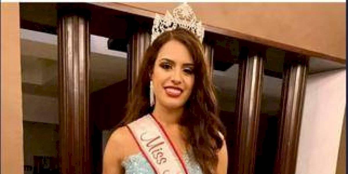 """Nancy Gómez ganó la corona de """"América Latina del Mundo 2019"""""""