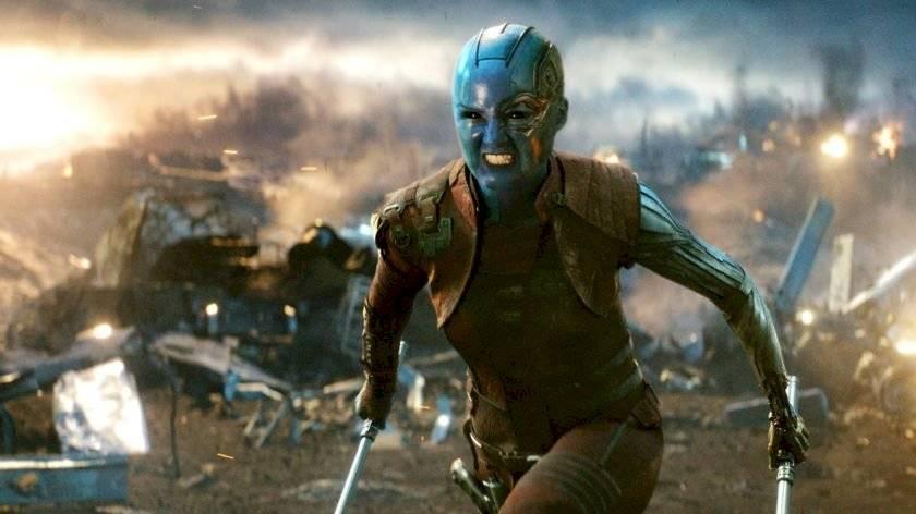 Karen Gillan como Nebulosa em Vingadores