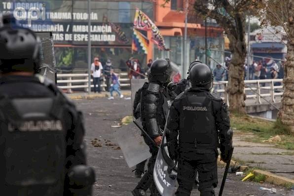 Manifestaciones Policía API