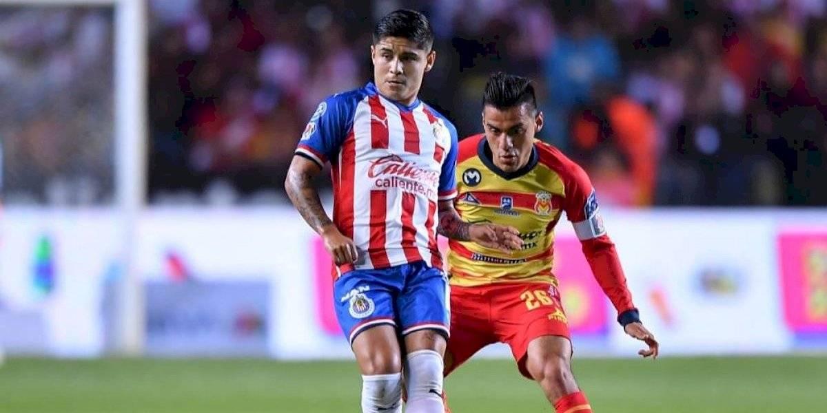 Chivas y Morelia se enfrentan en partido amistoso