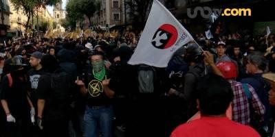 Otros bloques se organizan presuntamente desde las universidades