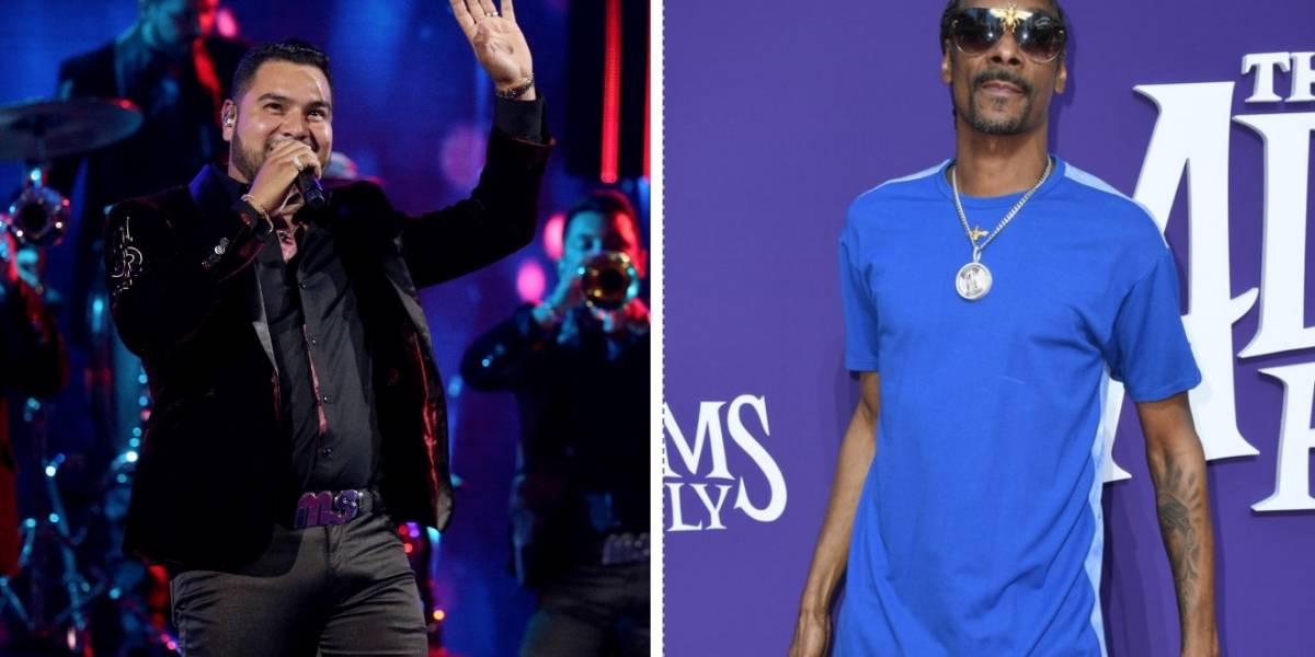 ¿Cómo se escuchará? Snoop Dogg hará colaboración con Banda MS