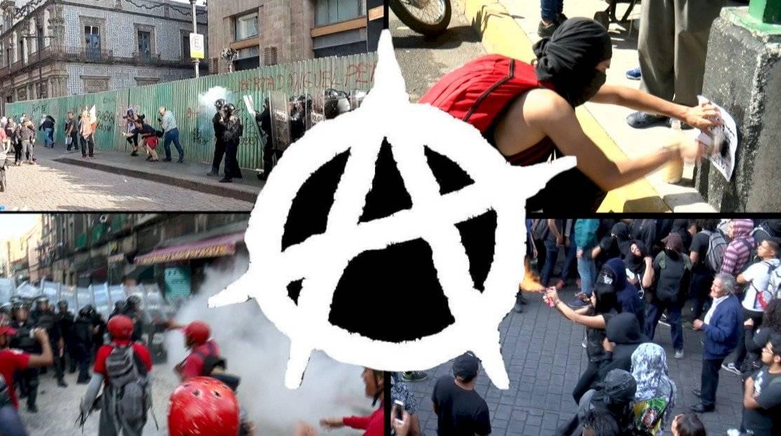 Autoridades han identificado grupos, como el bloque negro /Autor:Unotv
