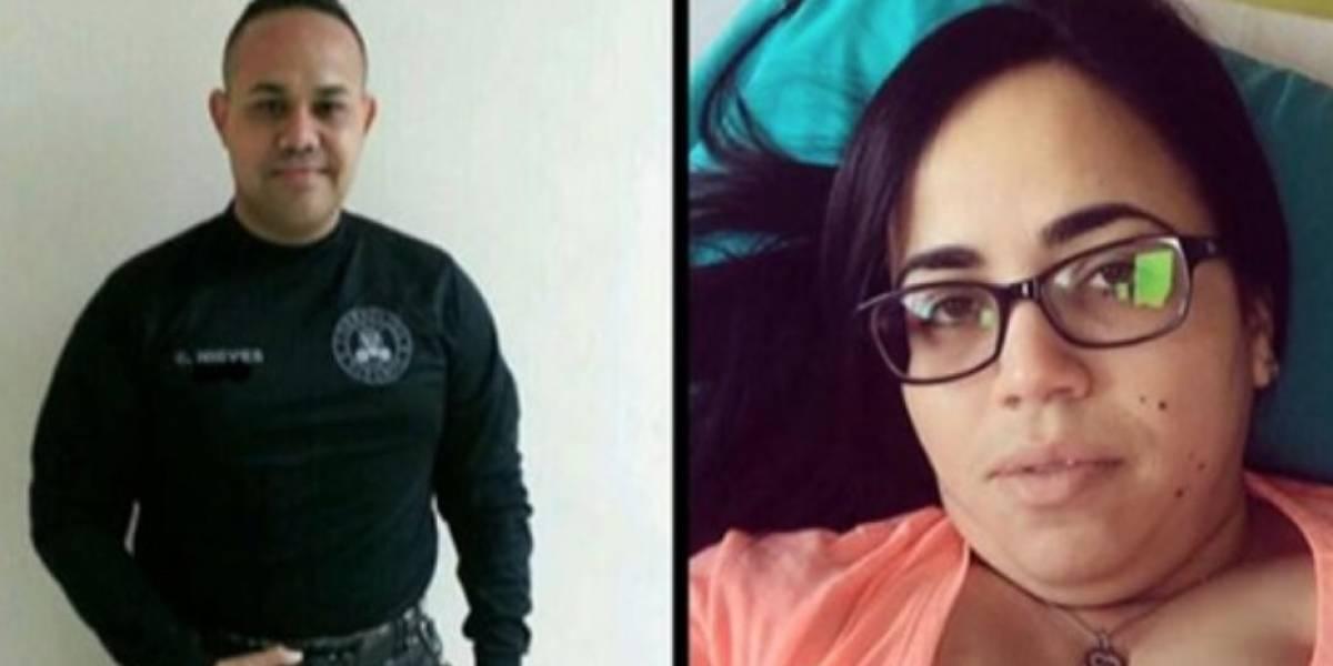 Identifican pareja hallada muerta dentro de guagua en Villalba